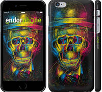 "Чехол на iPhone 6 Plus 3D скелет ""2868c-48"""
