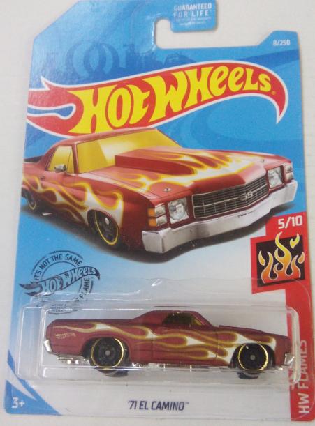 Машинка Hot Wheels 2019 '71 El Camino