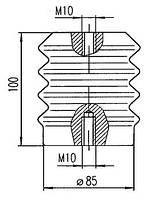 Изоляторы фарфоровые опорные армированные И4-60 II УХЛ2, И4-60 I УХЛ2, Изолятор И4-60 II УХЛ2, Изолятор И4-60