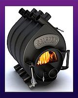 Канадская печь Булерьян Тип-00 С Calgary Новаслав (с стеклом)-100 м³