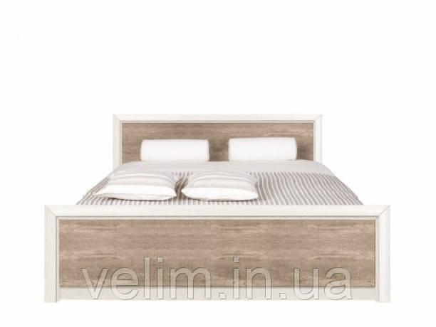 Кровать двуспальная Gerbor Коен 2 + ламель 180х200 сосна каньйон/дуб корабельный, фото 1