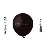 Воздушные шарики Gemar А50 пастель ЧЕРНЫЙ