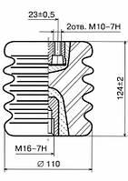 Опорні ізолятори фарфорові И8-80, Ізолятор И8-80 I УХЛ2, Ізолятор И8-80 II УХЛ2