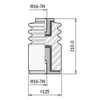 Опорні ізолятори фарфорові И8-125, Ізолятор И8-125 УХЛ3, Ізолятори И8-125 УХЛ3
