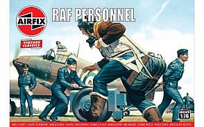 Набор пластиковых фигур в масштабе 1/76. Персонал британских ВВС. AIRFIX 00747