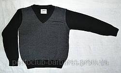 Пуловер для хлопчика чорний (InCity, Туреччина)