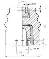 Изоляторы фарфоровые опорные армированные И25-125, Изолятор И25-125 I УХЛЗ, Изоляторы И25-125 I УХЛЗ
