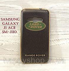 Силиконовый чехол для Samsung Galaxy J1 Ace (SM-J110) Land Rover