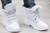Ботинки молодежные зима на толстой подошве из натуральной  кожи от производителя модель БС6015, фото 2