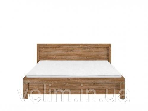 Кровать двуспальная BRW Герман LOZ/160+ламель 160х200 дуб стирлинг