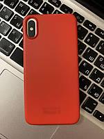 Чохол на iPhone X Червоний | Чехол на iPhone X Красный