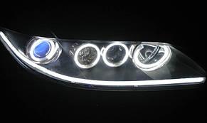 Дневные ходовые огни SL LED, гибкая лента с указателем поворота в фары 60 см., фото 2