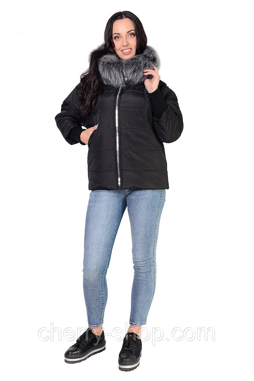 Молодежная куртка черного цвета ,в размере 46,48,50,52
