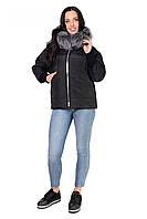 Молодежная куртка черного цвета ,в размере 46,48,50,52, фото 1