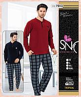 "Мужская пижама на флисе ""SNC"", Турция"