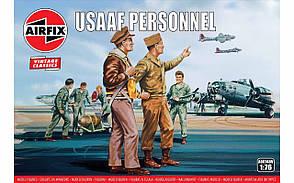 Набор пластиковых фигур в масштабе 1/76. Персонал американских ВВС. AIRFIX 00748