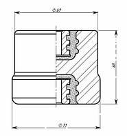 Опорні ізолятори фарфорові армовані ІО-1-2,5 У3, Ізолятор ІО-1-2,5 У3, ІО-1-250 У3