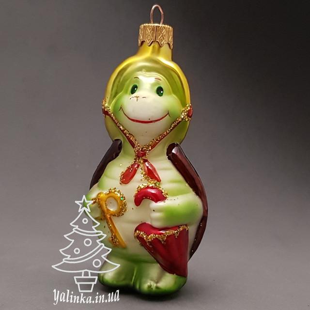 Стеклянная игрушка Черепаха Тортила