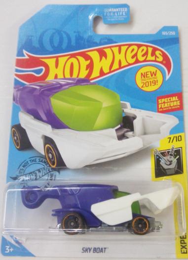 Машинка Hot Wheels 2019 Sky Boat