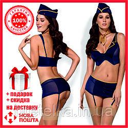 Ролевой костюм. Костюм стюардессы. Форма стюардесс Obsessive Stewardess
