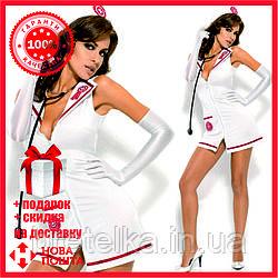 Ролевой костюм. Костюм эротический медсестра Emergency Dress