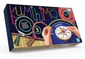 """Набір для плетіння браслетів і прикрас"""" Кумихимо"""" Danko Toys (KUMIXIMO)"""