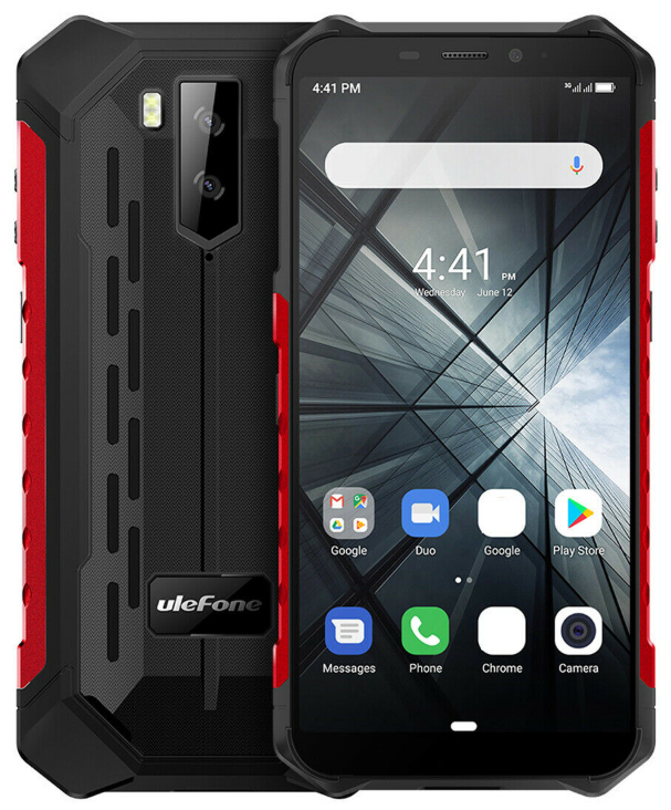 UleFone Armor X3 red IP68