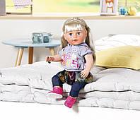 Кукла пупс для девочки Baby Born Оригинал Бэби Борн Нежные объятия Сестрёнка Модница Zapf 824603