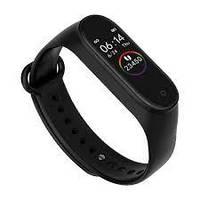 Фитнес-часы М4, смарт браслет smart watch, аналог mi band 4, треккер, сенсорные фитнес часы, фото 1