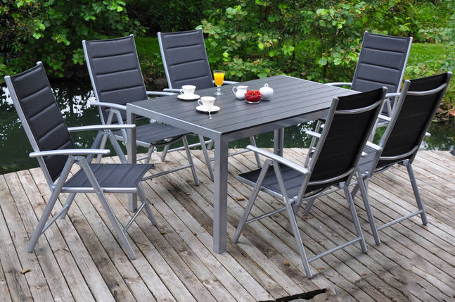 Алюминиевая садовая мебель Ибица, комплект, фото 2