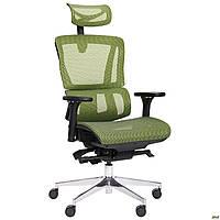 Кресло Agile Black, Alum, Green TM AMF