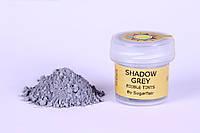 Краска сухая для цветов Sugarflair темно серый