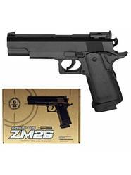 Страйкбольный металлический пистолет CYMA ZM26 спринговый