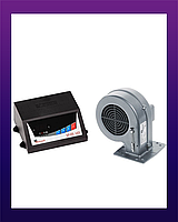 Контроллер Твердотопливного Котла KG ELEKTRONIK SP05 LED+DP02 (Вентилятор)