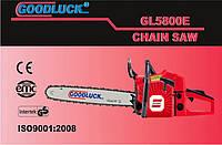 Бензопила GOODLUCK GL 5800E метал (  1 шина,1 цепь), фото 1
