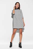 Короткое женское свободное платье, фото 1