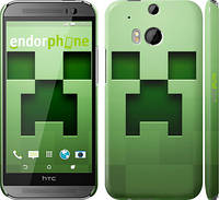 "Чехол на HTC One M8 dual sim Minecraft 2 ""774c-55"""