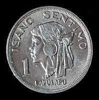 Монета Филиппин 1 сентимо 1974 г.