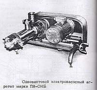 Одновинтовой электронасосный агрегат П8-ОНБ