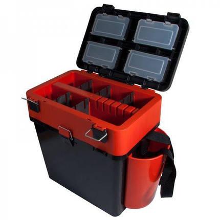Ящик зимний Helios FishBox Red 19L., фото 2