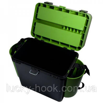 Ящик зимний Helios FishBox Green 19L., фото 2