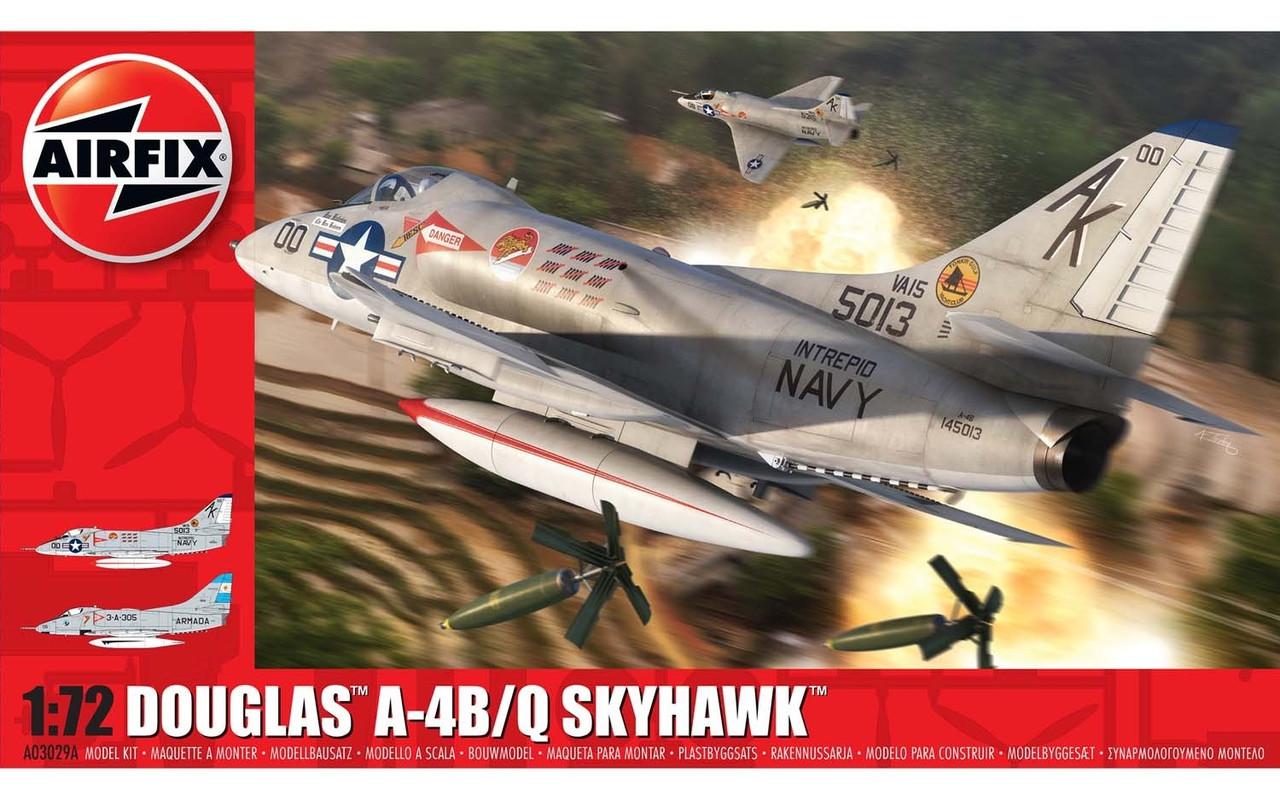 Сборная модель самолета Douglas™ A-4B/Q Skyhawk™. 1/72 AIRFIX 03029