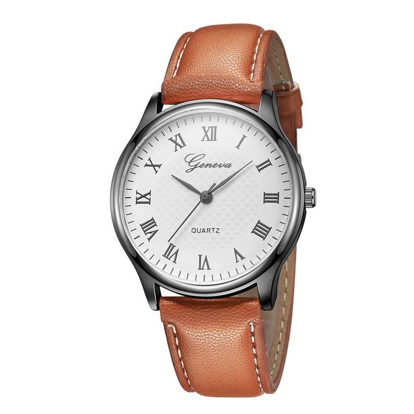 Женские часы Geneva с римскими цифрами | 88344-4