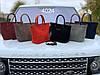 Женская сумочка Натуральная замша и эко-кожа Турция, фото 3