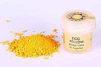 Краска сухая для цветов Sugarflair яично желтый