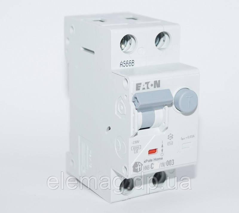 16A Дифференциальный автомат Eaton Moeller HNB-C16/1N/003 195127