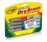 Маркеры для доски Crayola 4 цвета