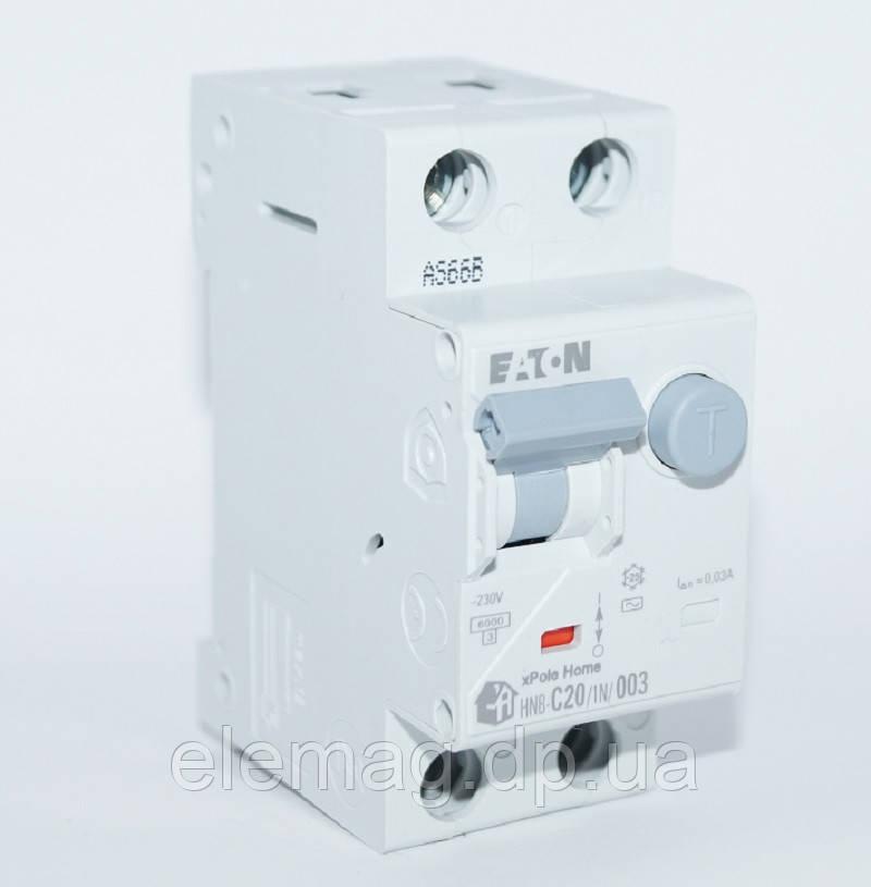 20А Дифференциальный автомат Eaton Moeller HNB-C20/1N/003 195128