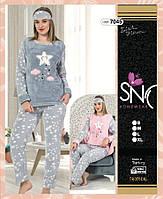Флисовая пижама с махрой, Турция
