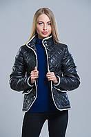 Женская стеганная демисезонная куртка (черный), разные цвета